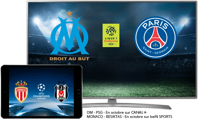 Ligue 1 Conforama en octobre CANAL+ Sport et beIN SPORTS