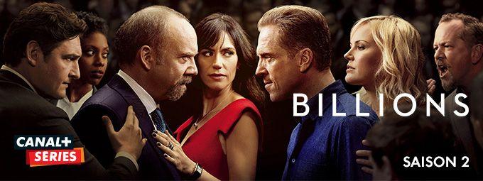 Billions saison 2 en décembre sur CANAL Séries