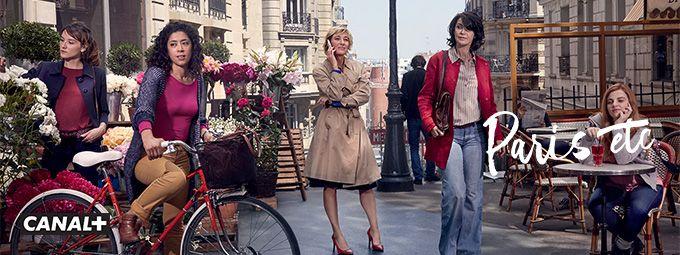 Paris etc en décembre sur CANAL+