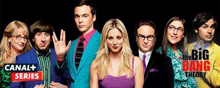 The Big Bang Theory en octobre sur CANAL+ Series