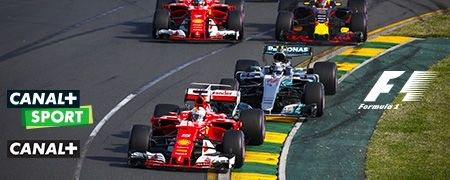 Formule 1 en octobre sur CANAL+ et CANAL+ Sport