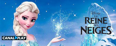 La Reine des Neiges en octobre sur CANALPLAY