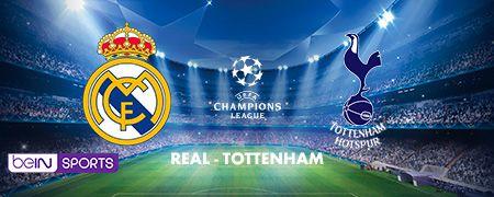 Real - Tottenham en octobre sur beIN SPORTS