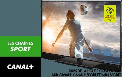 Ligue 1 Conforama en décembre sur CANAL+, CANAL+ Sport et beIN Sport