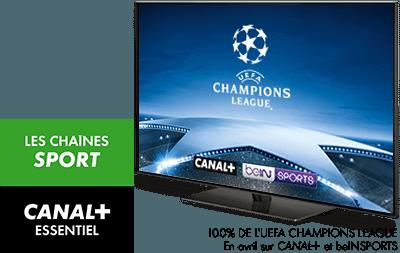 L'intégralité de l'UEFA Champions League saison 2017-2018 en avril sur CANAL+ et BeIN Sports