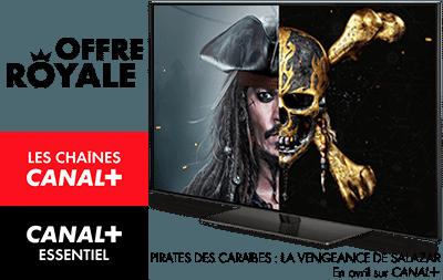 Pirate des Caraibes : La Vengeance de Salazar en avril sur CANAL+