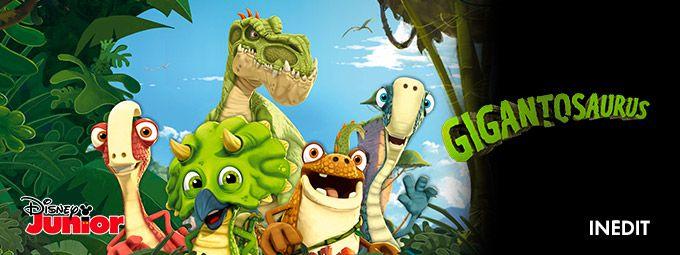 Gigantosaurus en Avril sur Disney Junior