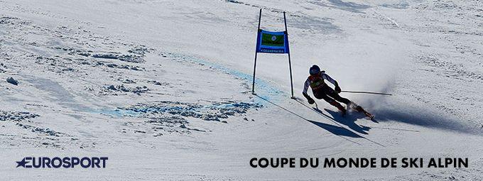 Coupe du Monde de ski alpin - En décembre sur EUROSPORT