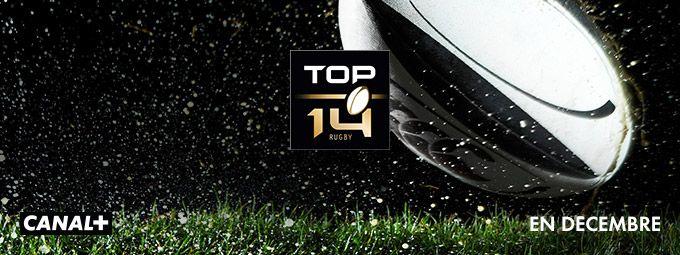Top 14 en Décembre sur CANAL+