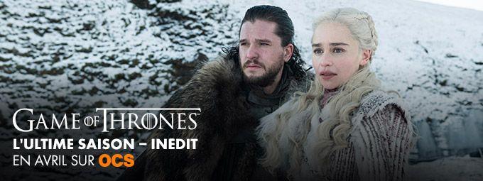 L'ultime saison de Game of Thrones en Avril