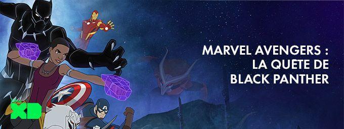 Marvel's avengers : la quête de black panther en Janvier sur Disney XD