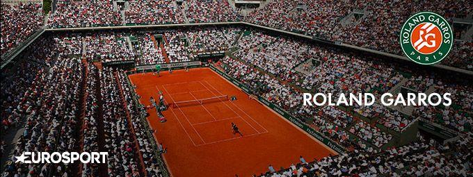 Roland Garros en Mai sur Eurosport