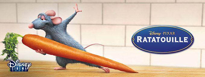 Ratatouille en Juin sur Disney CINEMA
