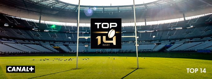 Top 14 en Novembre sur CANAL+