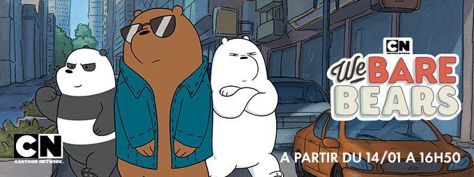 We bare bears en Janvier sur CN