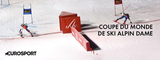 Coupe du monde de ski - femmes en décembre sur Eurosport