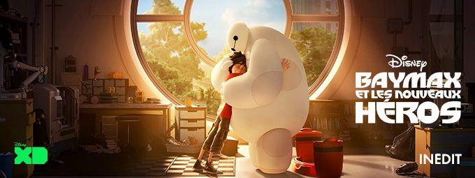 Baymax et les nouveaux héros - inédit en avril sur Disney XD