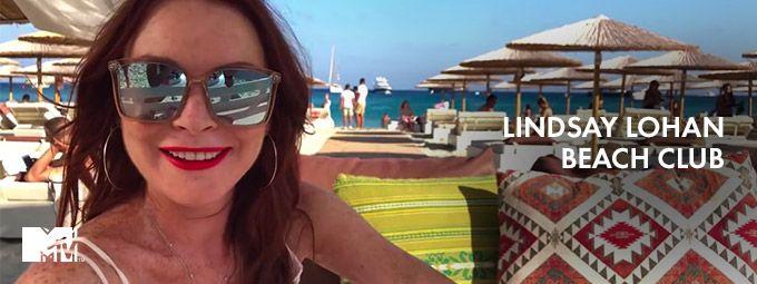 Lindsay Lohan Beach Club en Janvier sur MTV