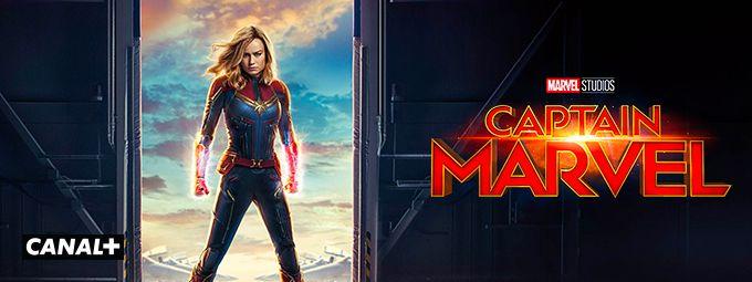 Captain Marvel en Janvier sur CANAL+