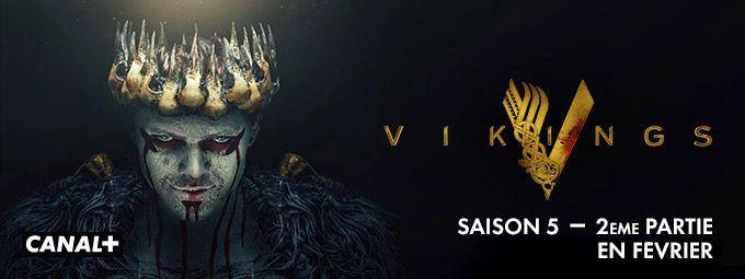 Vikings - saison 5, 2ème partie en Février sur CANAL+