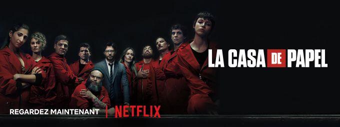 La Casa de Papel en octobre sur Netflix