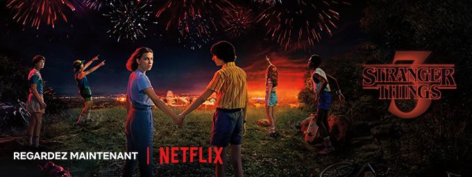 Stranger Things en octobre sur Netflix