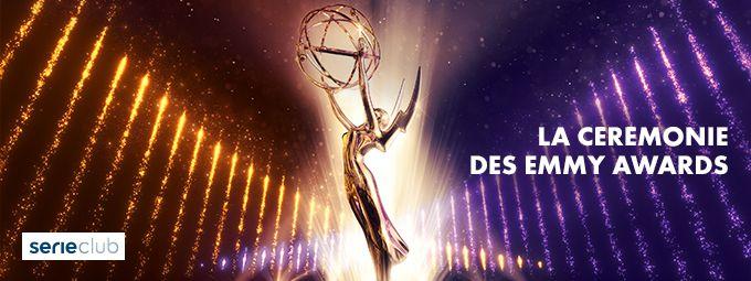 La Cérénomie des Emmy Awards en Septembre sur SERICLUB