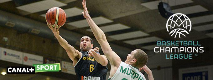 Basket Champion's league en Février sur CANAL+Sport