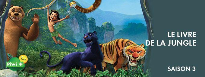 Le Livre de la Jungle Saison 3 en février sur Piwi+