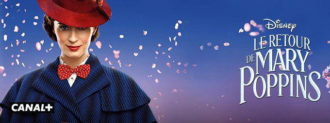 Le retour de Mary Poppins en Septembre sur CANAL+