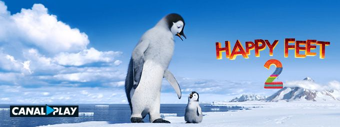 Happy Feet en mai sur CANALPLAY