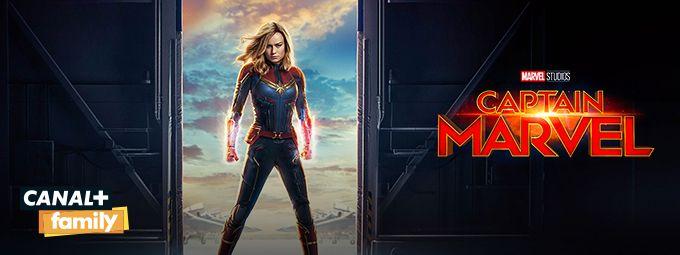 Captain Marvel - En février sur CANAL+FAMILY