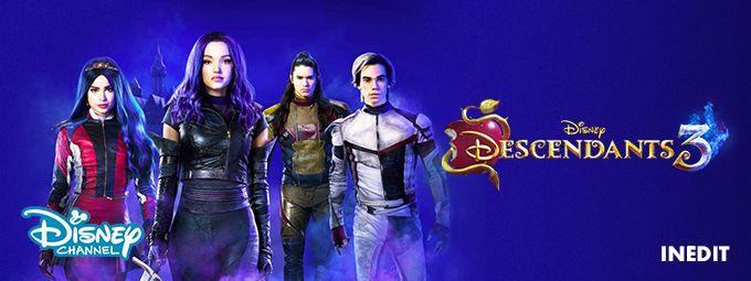 Descandants 3 - Inédit en octobre sur Disney channel