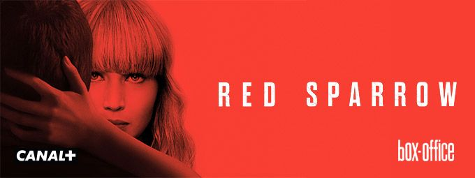 Red Sparrow en Mars sur CANAL+