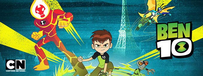 Ben 10 en Mars sur Cartoon Network