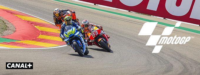 Moto GP en octobre sur CANAL+