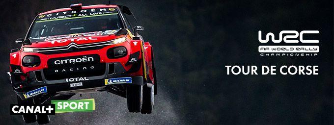 WRC Tour de Corse en Mars sur CANAL+SPORT