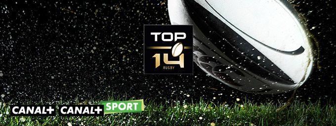 Top 14 en Mars sur CANAL+ et CANAL+ Sport