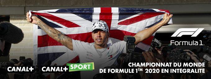 Championnat du monde de Formule 1TM en mars sur CANAL+ et CANAL+SPORT
