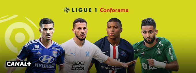 Ligue 1 Conforama Saison 2019 - 2020 - En novembre sur CANAL+