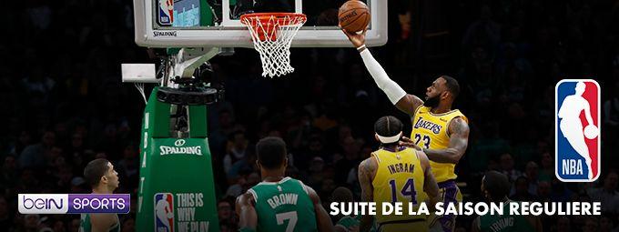 NBA suite de la saison régulière - En novembre sur bein SPORTS