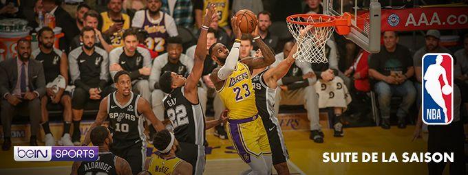 NBA - Suite de la saison - En mars sur beIN SPORTS