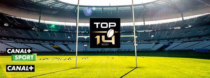 Top 14 en septembre sur CANAL+ et CANAL+ Sport