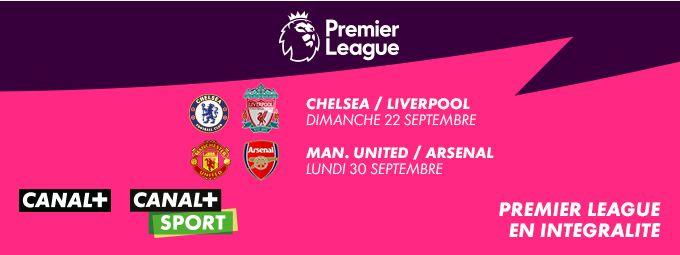 Premier League en intégralité sur CANAL+ et CANAL+SPORT