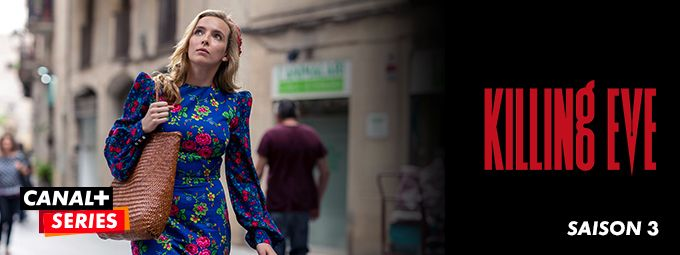 Killing Eve saison 3 - En avril sur CANAL+CINEMA