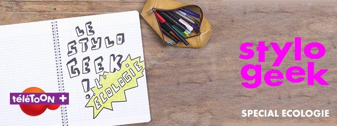 Stylo Geek - En avril sur Teletoon+