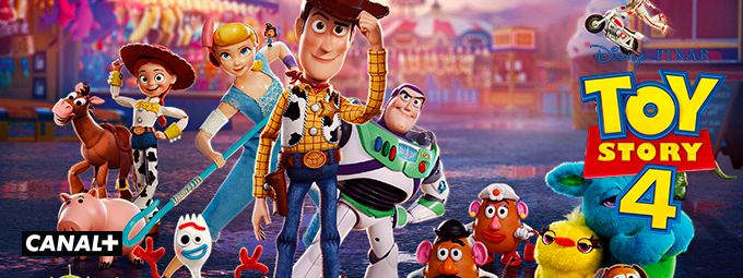 Toy Story 4 en avril sur CANAL+