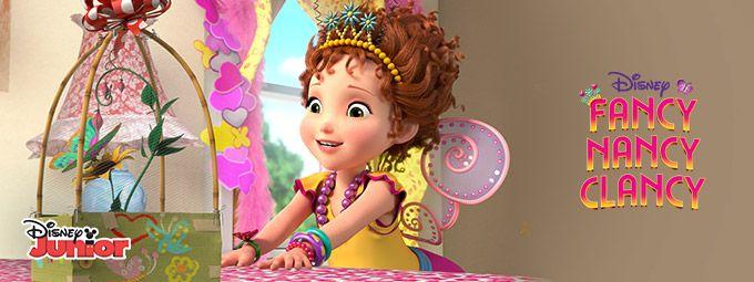 Fancy nancy clancy en Janvier sur Disney Junior