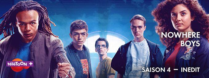Nowhere boys saison 4 en Janvier sur Télétoon+