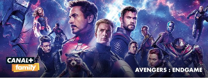 Avengers Endgame - En mai sur CANAL+FAMILY